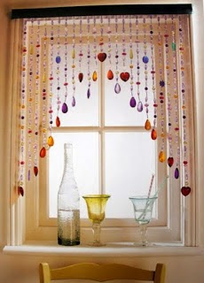 Guest Post: Love beads and tie-dye decor - So About What I Said