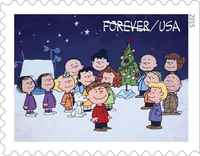 Peanuts Characters Postage Stamps
