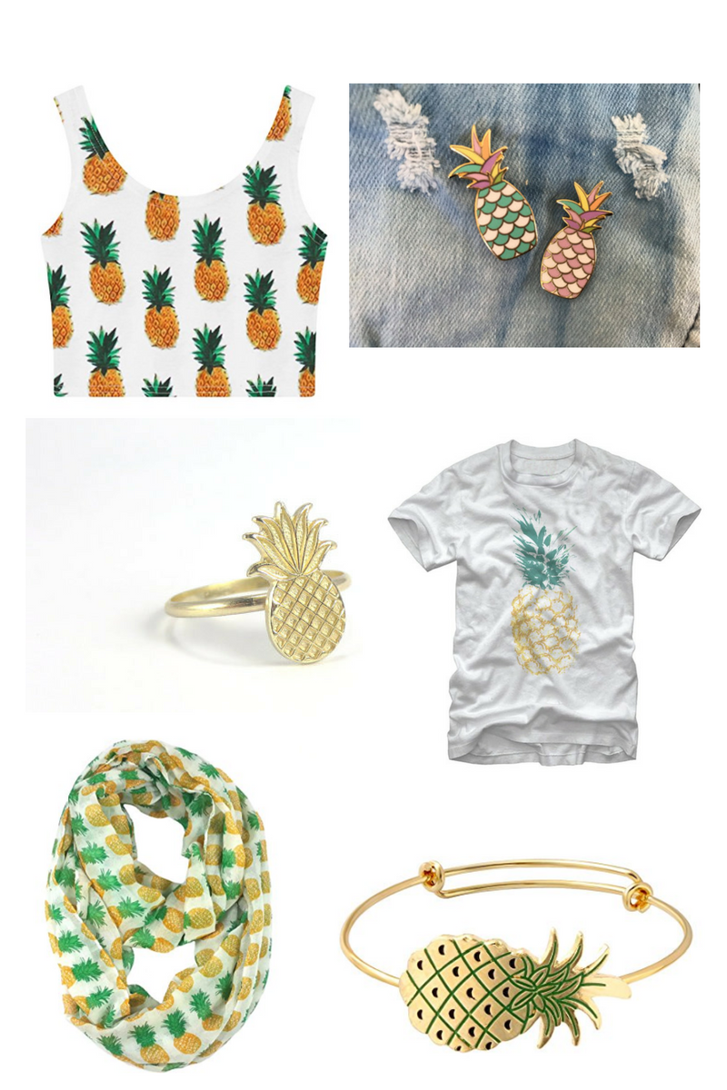 style guide pineapples please