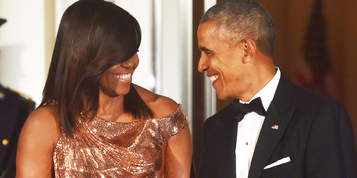 Celebrating Barack and Michelle Obama