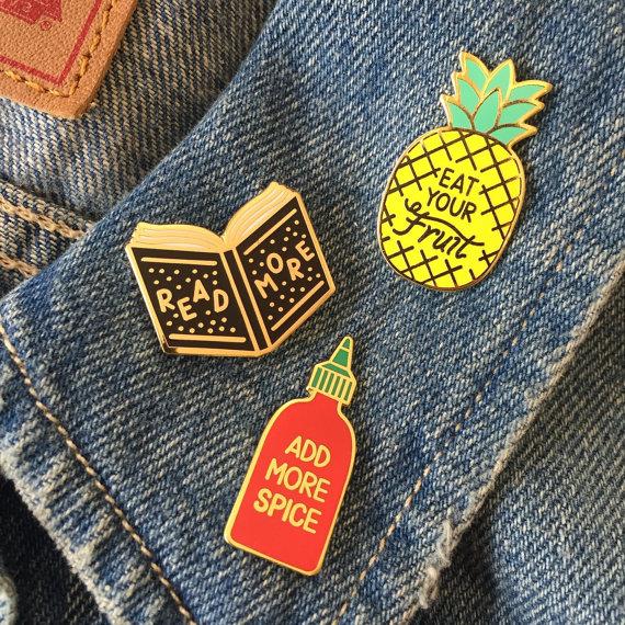 Life Lesson Enamel Pins