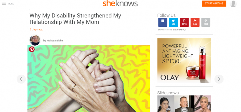 how my disability helped me bond with my mom