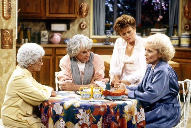 Binge-watching The Golden Girls