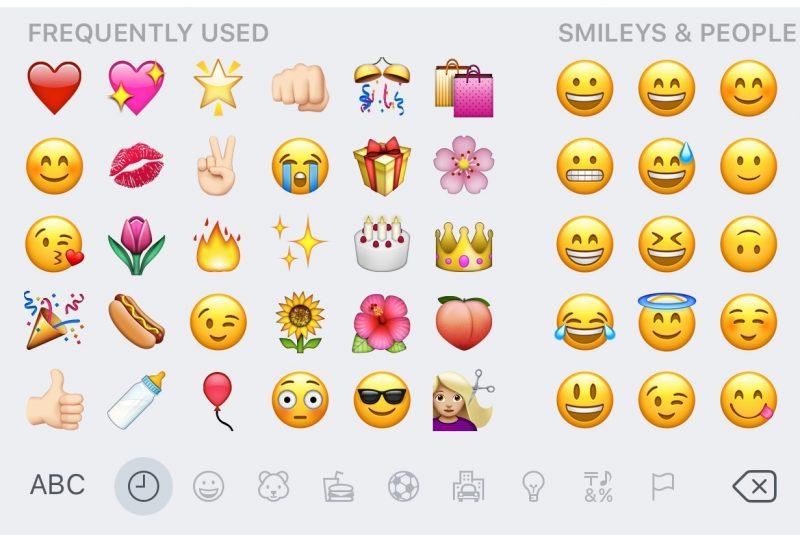favorite emojis