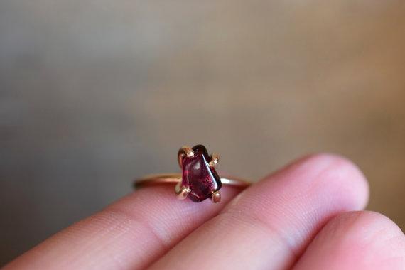 Sweet Garnet Ring