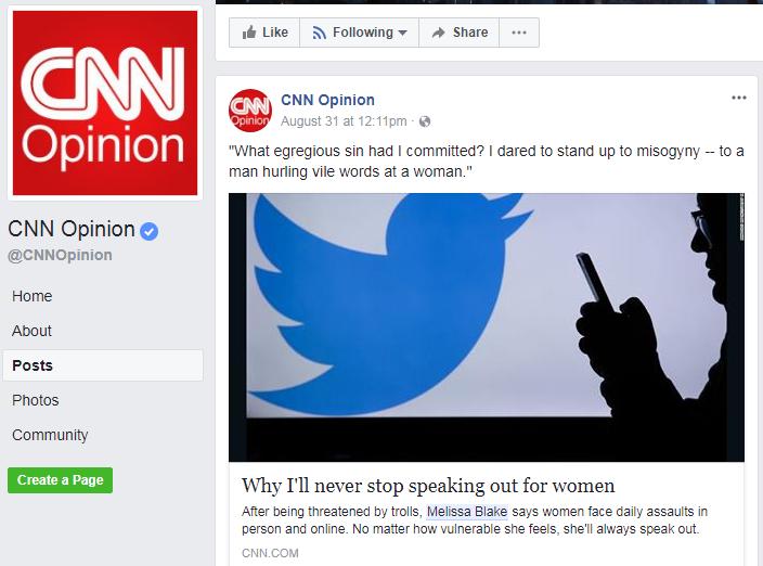 CNN Opinion essay