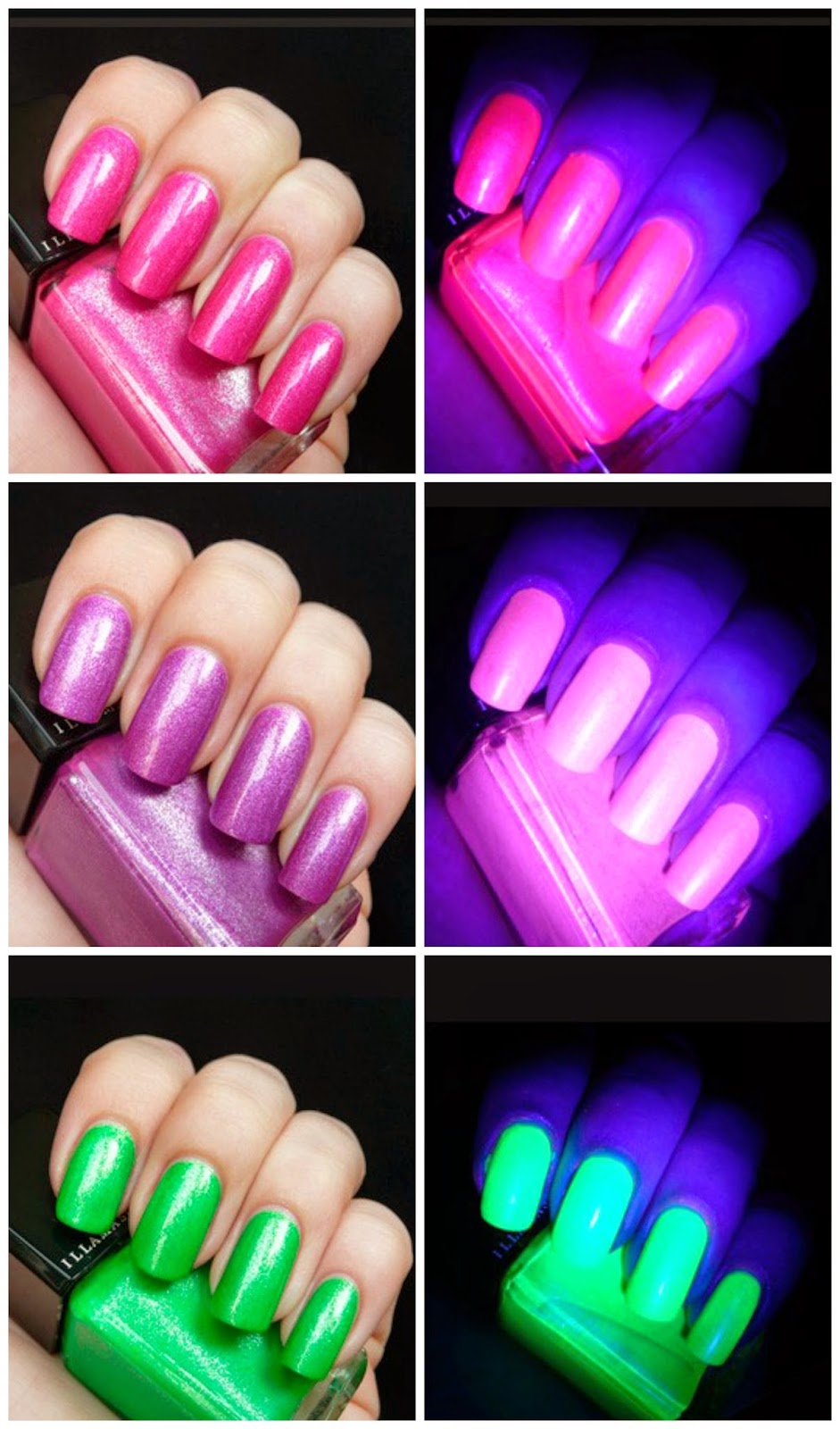 Fashion Friday: Glow-in-the-dark nails - So About What I Said