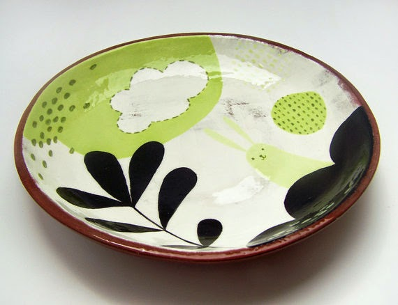 Etsy Love Hand-painted plates & Etsy Love: Hand-painted plates - So About What I Said