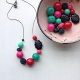urbanlegend beaded lucite necklace