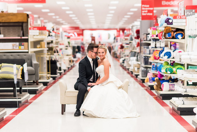 This Target-Themed Anniversary Shoot Is Life