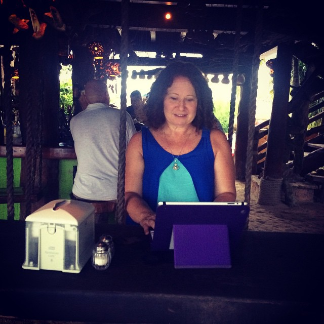 freelance writer and copy writer Carole Rosenblat