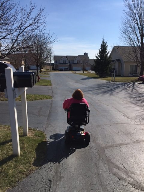 My New Wheelchair