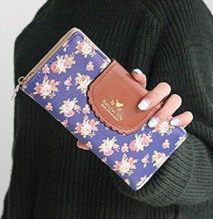 Floral Wallet For Spring