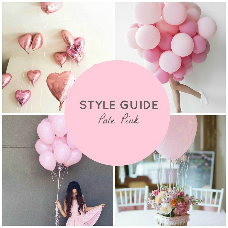 pale pink spring trend