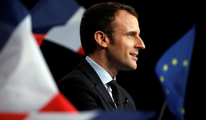 Man Candy French President Emmanuel Macron
