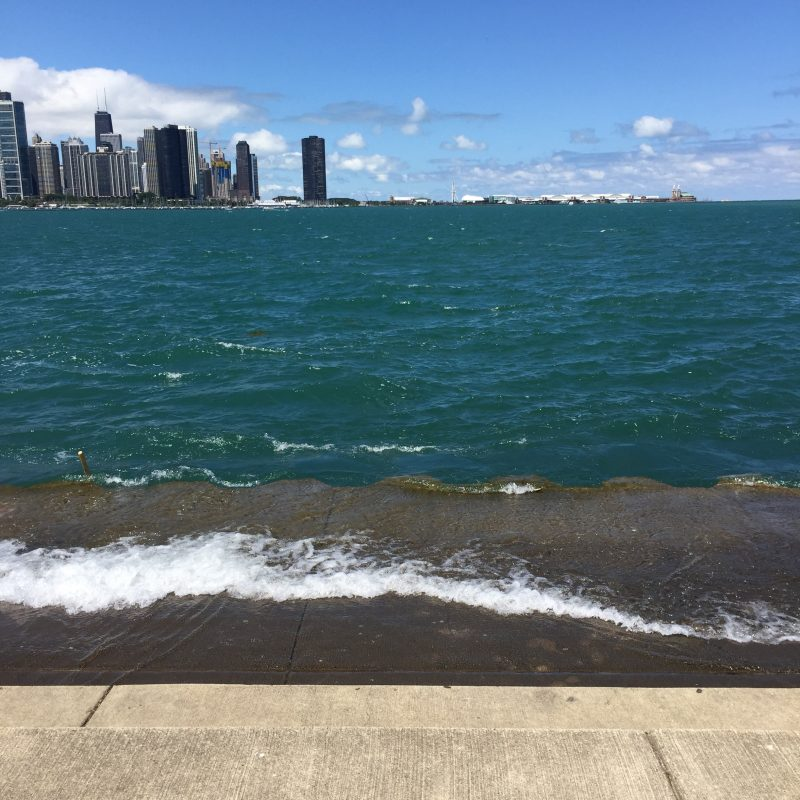 Strolling Along the Lakefront