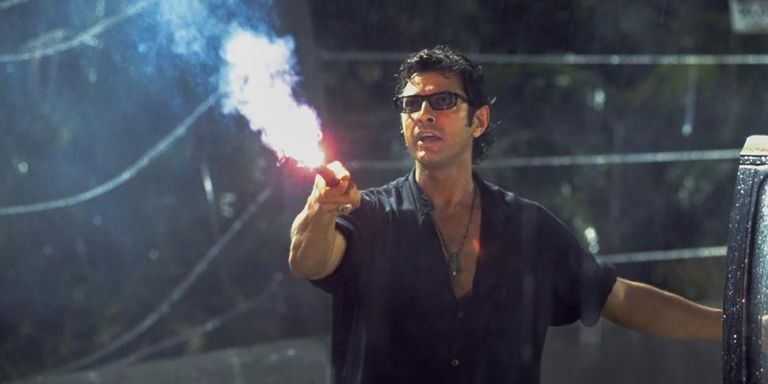 Man Candy Dr Ian Malcolm Jurassic Park