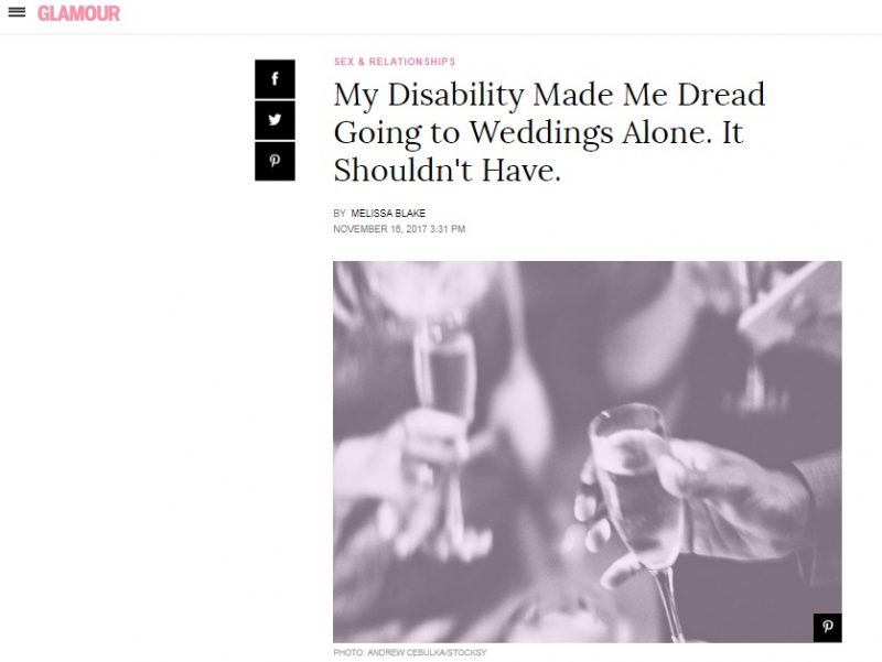 Going to Weddings Alone