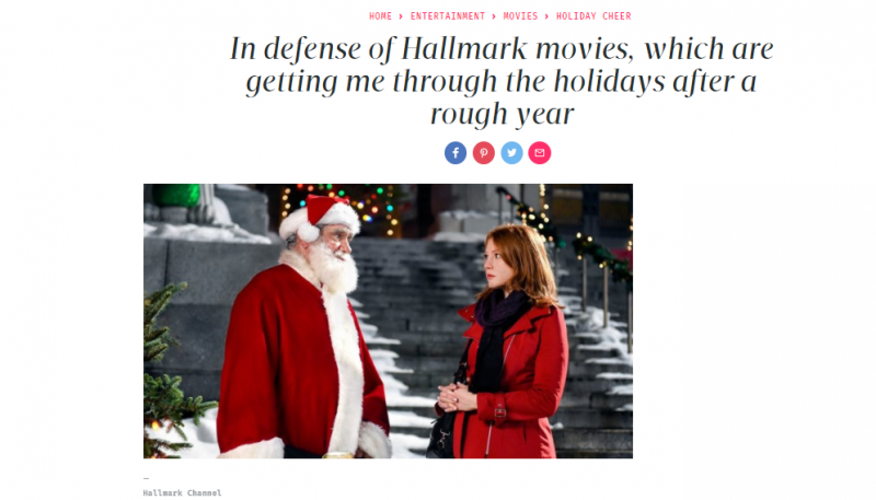 In Defense of Hallmark Movies
