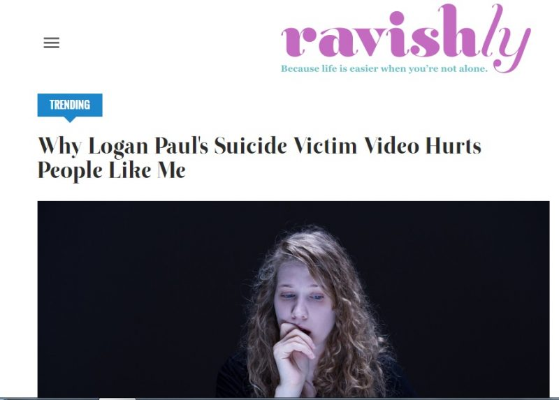 suicide victim video