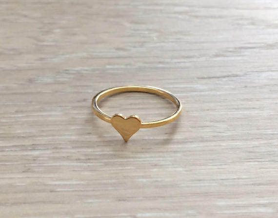 Geometric Gold Rings
