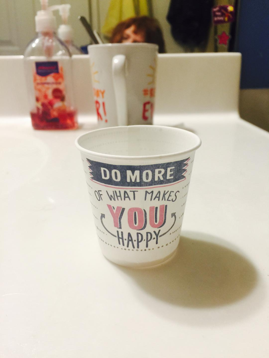 In Which I Muse on Dixie Cups (Really!) - So About What I Said