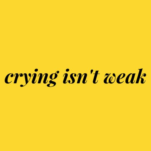 Quotes Monday: On the Healing Power of Crying - So About ...
