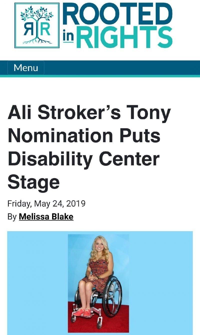 Ali Stroker