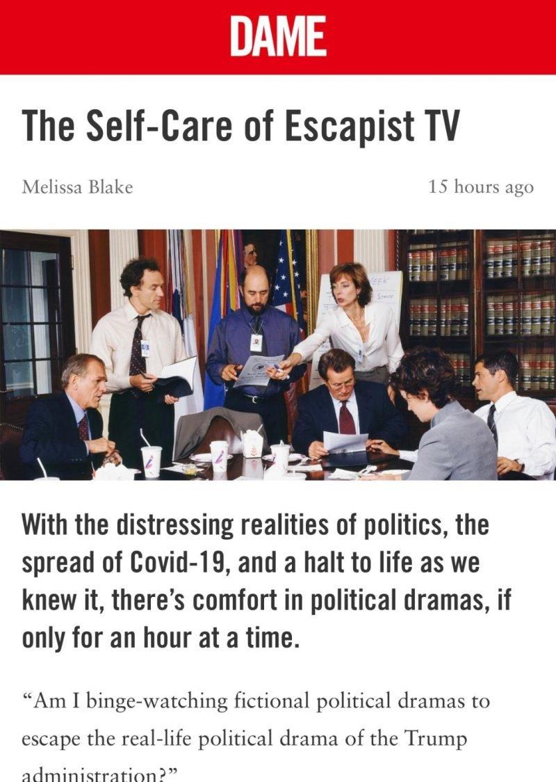 political dramas